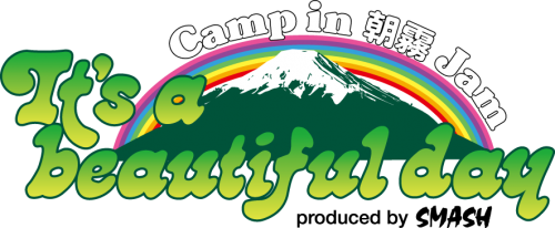 It's a beautiful day Camp in 朝霧JAM 2018