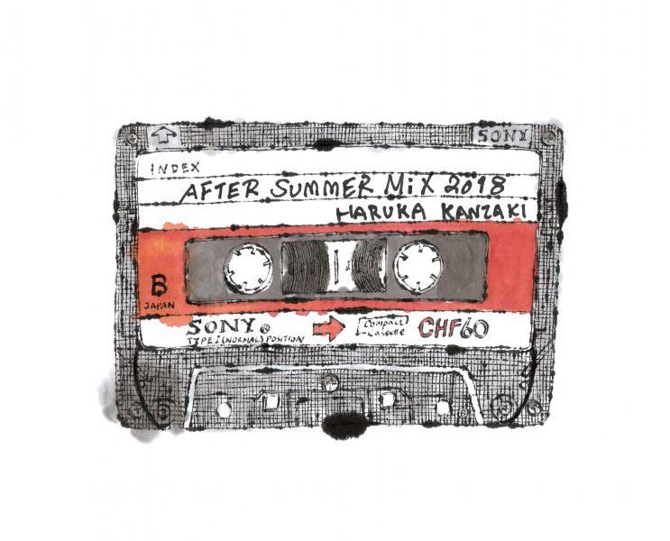 神崎遥個展「AFTER SUMMER Mix 2018」