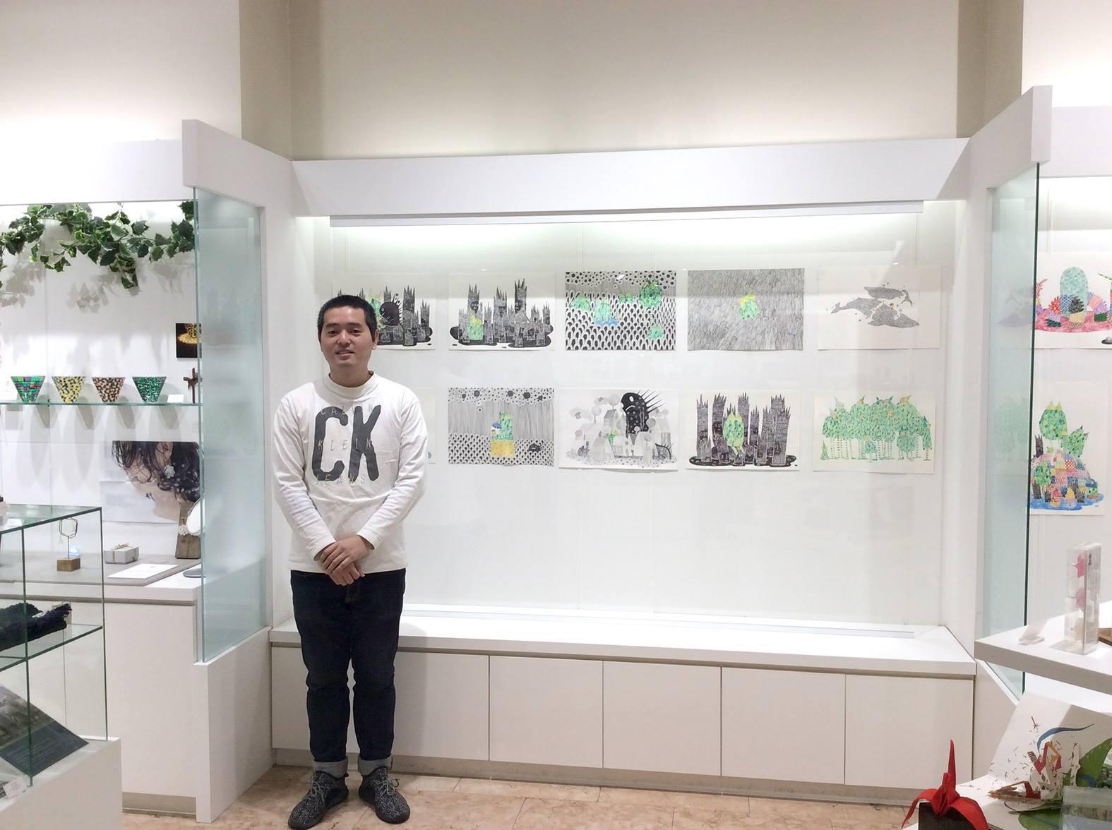 【実績紹介】 Lionel Lo(ライオネル・ロー)さんがセゾンアートショップで個展を開催/
