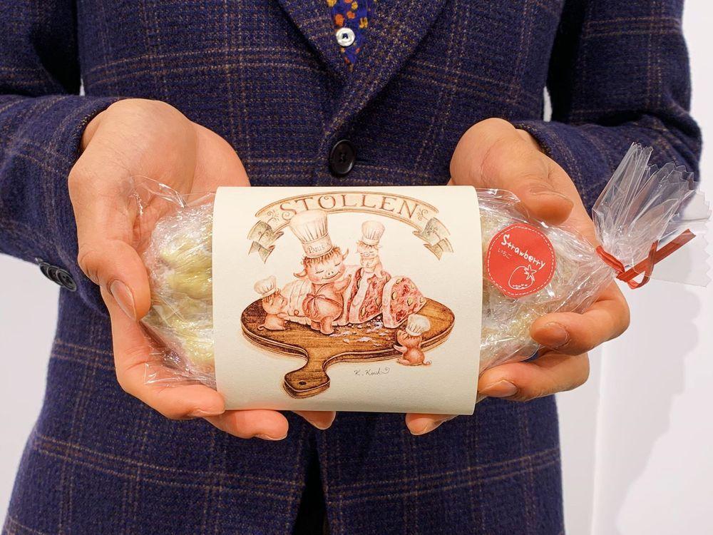 【実績紹介】鹿島孝一郎 / PARIS-h(パリ アッシュ)苺シュトレンのパッケージデザインを担当/