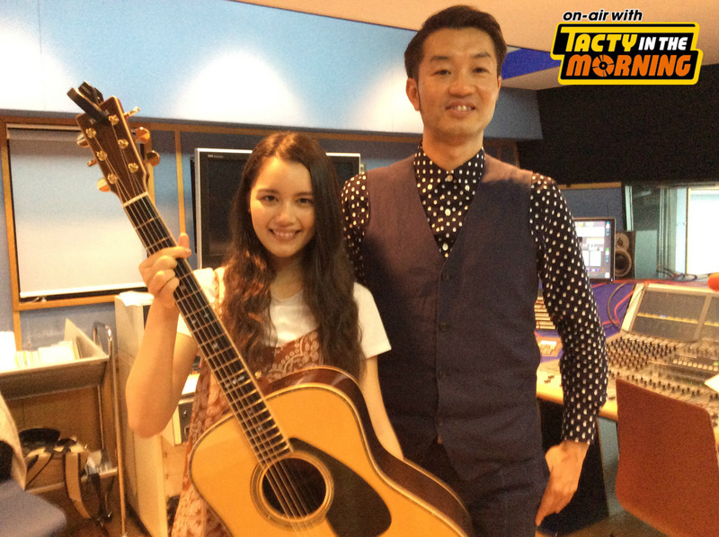 On-air with TACTY IN THE MORNING